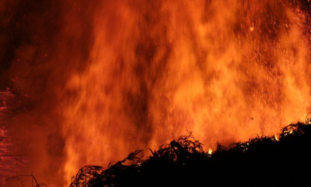 North Platte Fire Blackens Thousands of Acres