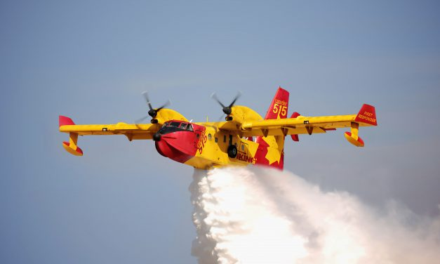 LMS Gets Fuel Gauging Contract for Renowned Canadair Aerial Firefighters