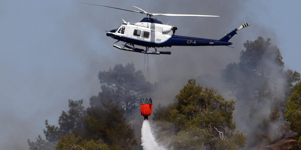 Nine aircraft and two thousand firefighters at the ready for Cyprus fire season