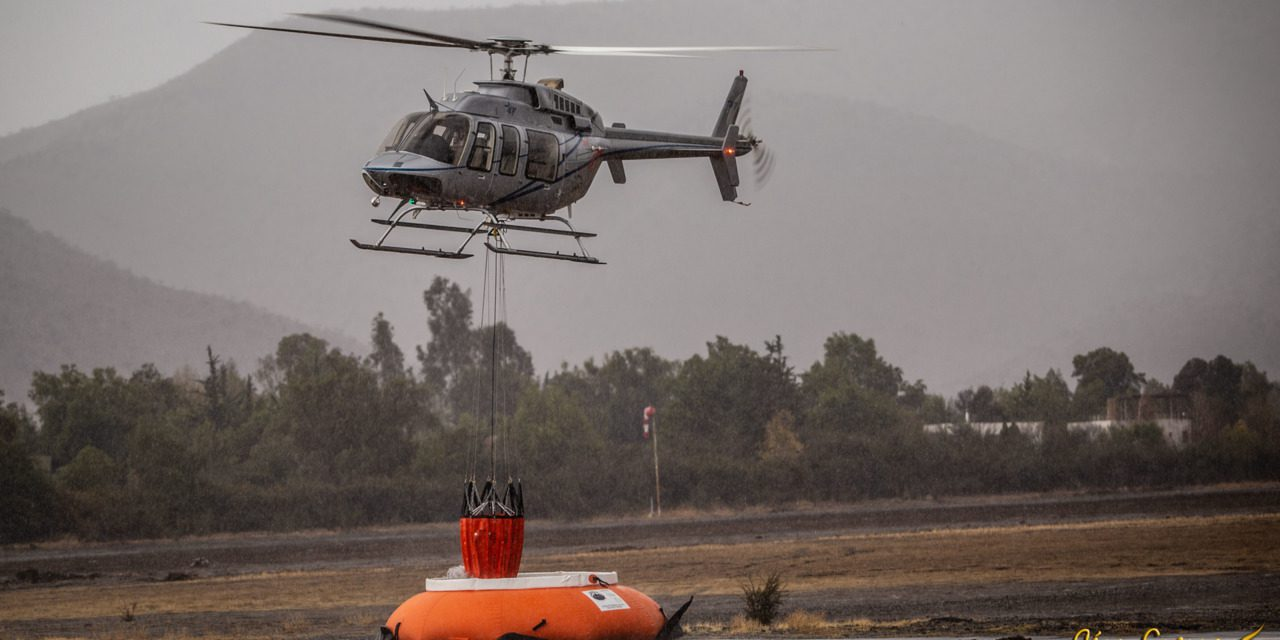 SEI Industries demos the BAMBI MAX with Eagle Copters South America