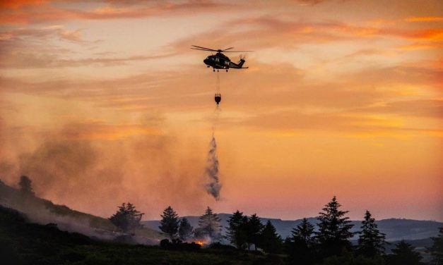 Irish Air Corps Prepare to Fight Summer Fires