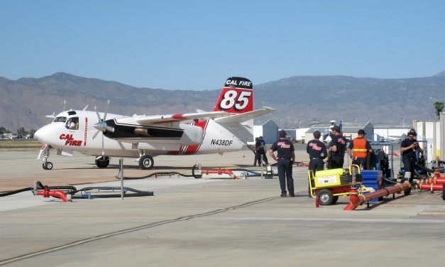 The Pilots Who Fight California's Wildfires