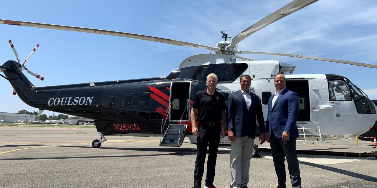 New Technology Helps to Fight Fires From the Sky