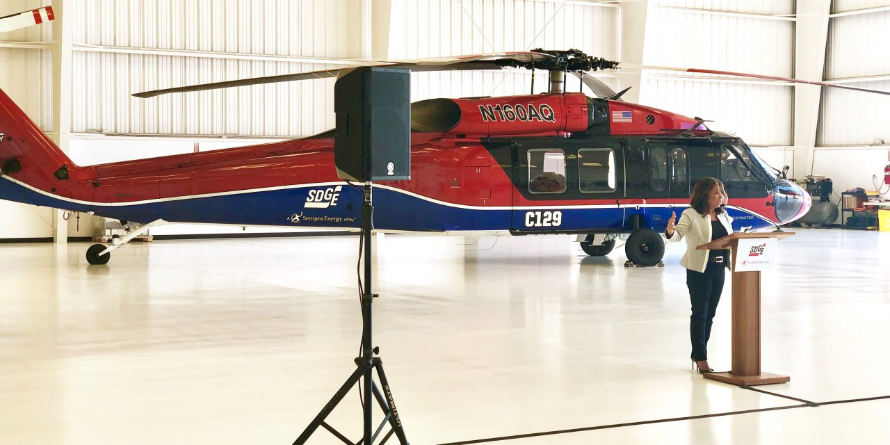 SDG&E Announces Arrival of UH-60 and Tactical Command Center to Fight Summer Fires