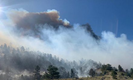 Fire Near Pathfinder Reservoir Triples in Size, Causing Mandatory Evacuation