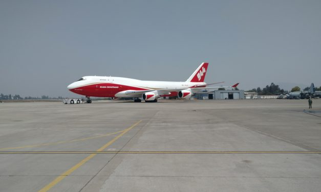Global Supertanker Arrives in Bolivia for Aerial Firefighting