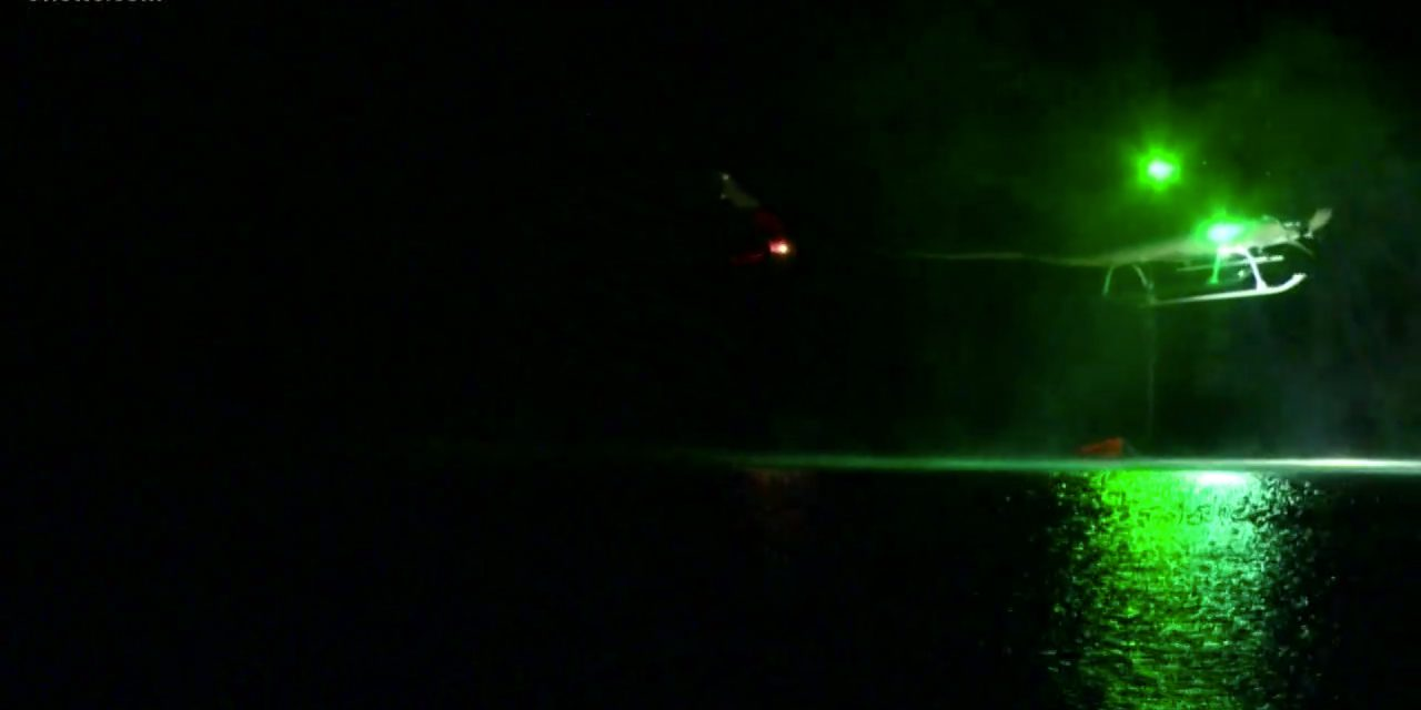 VIDEO: Firefighting Helicopters Take to the Sky at Night in Colorado