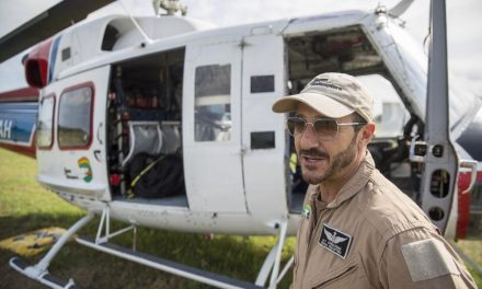 Waiting in the Wings: Helicopter Pilots Stationed in Smithville Await Call to Fight Fires