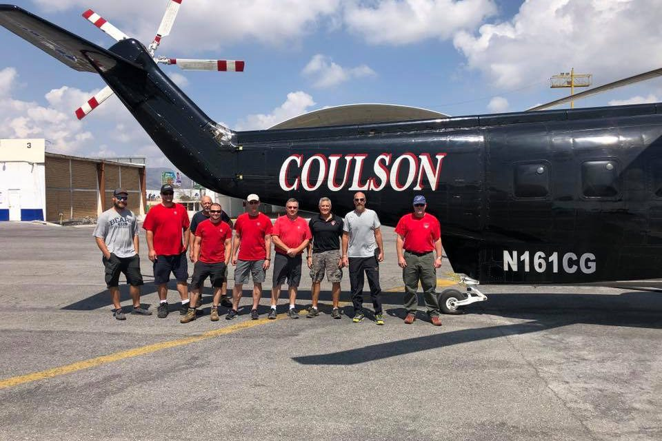Australia is Burning and Port Alberni's Coulson Group is on The Frontlines