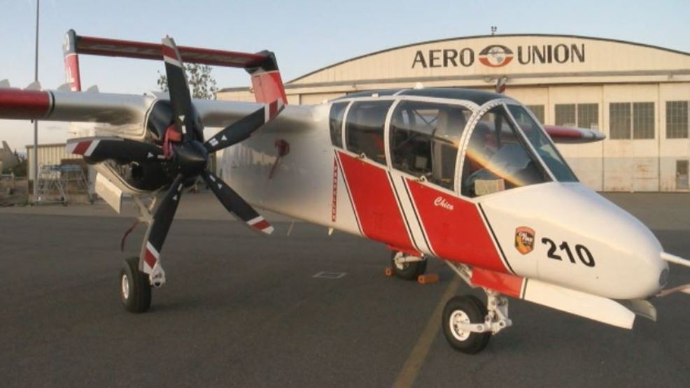Chico Air Attack Base Helps Fight Red Bank Fire