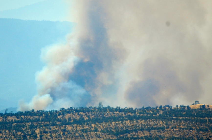Red Bank Fire Spreading to Nearly 8,900 Acres
