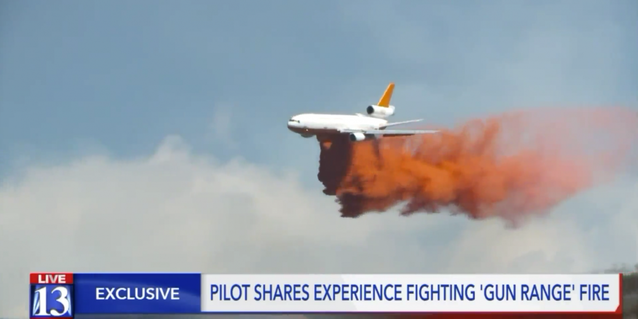 VIDEO: Meet the Pilot Who Fought the 'Gun Range Fire' From the Air