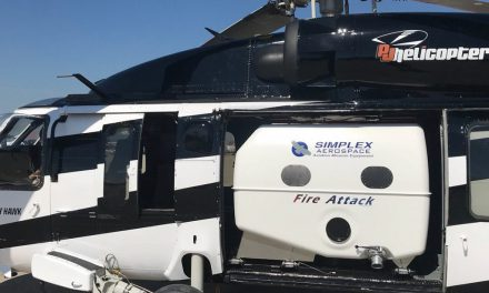 Simplex Fire Attack System for UH-60 Gains FAA Certification