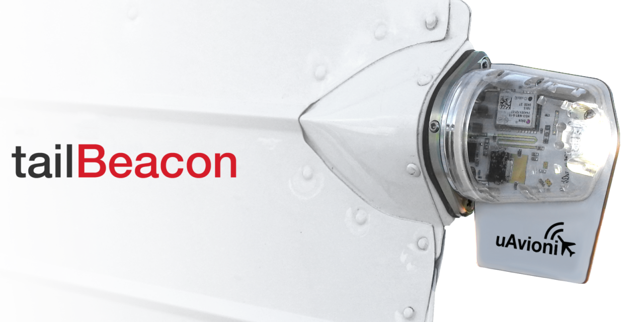 uAvionix Receives FAA STC for tailBeacon ADS-B OUT Solution