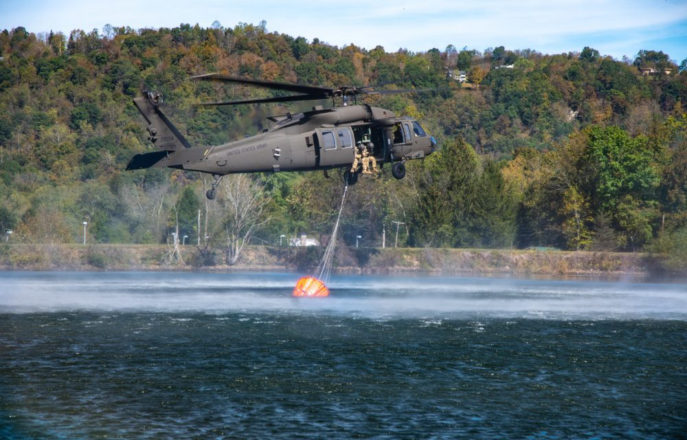West Virginia National Guard Trains for Wildland Firefighting