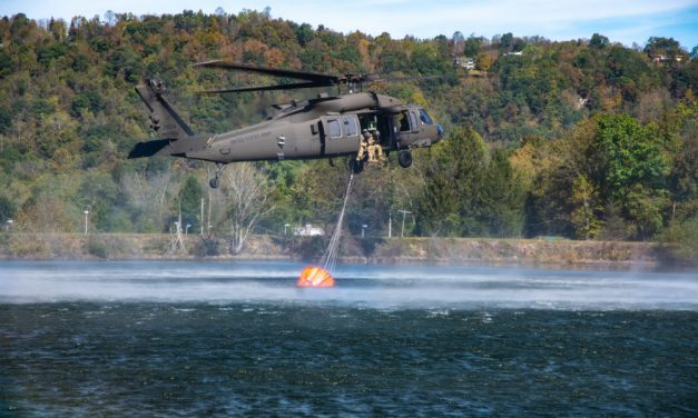 Task Force Bravo Conducts Large Formation Helicopter Exercise