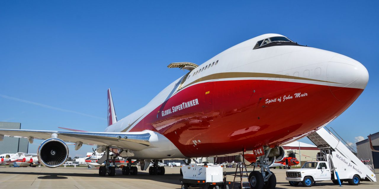 VIDEO: Global SuperTanker Drops on Kincade Fire