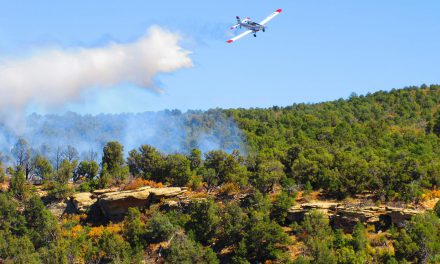 Lost Canyon Wildfire South of Dolores is Contained