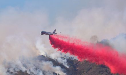 Kincade Fire Nearing 60% Containment as Aerial Firefighting Efforts Continue