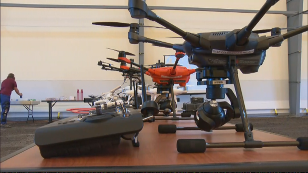 New Indoor Facility Allows First Responders To Test Drone Techniques & Skills