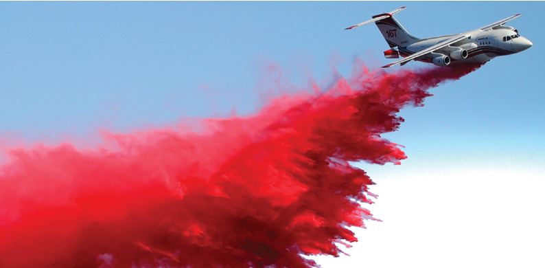 How aerial firefighters attack wildfires with air tankers, Broncos, and Super Hueys