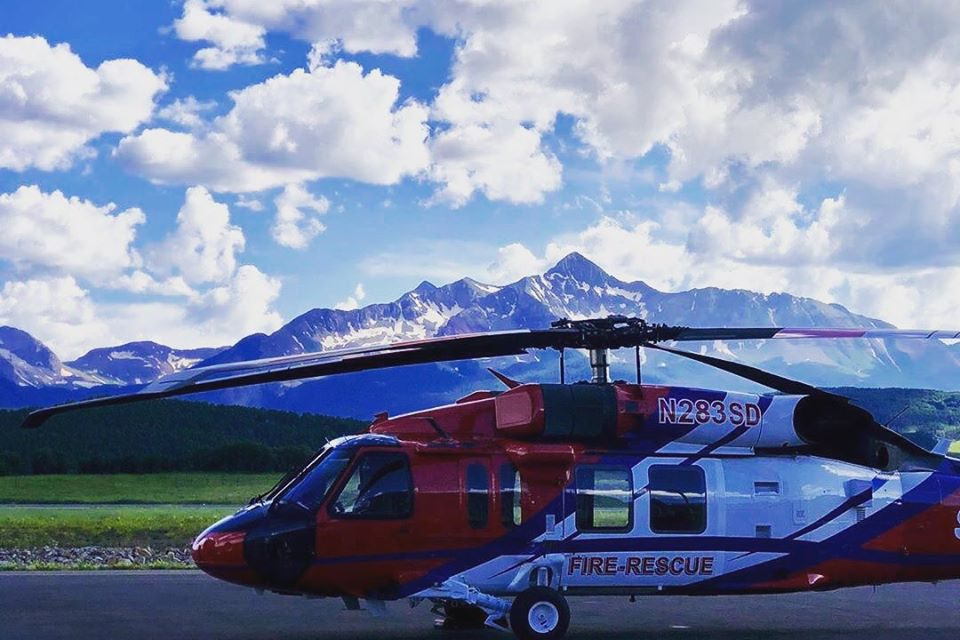 VIDEO: SDFD Debuts New Firehawk Helicopter