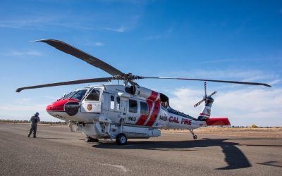 World's Top Aerial Firefighting Agencies Equipping FIREHAWK Fleets With Collins Aerospace's Goodrich Rescue Hoist