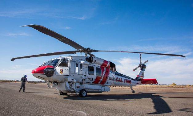 United Rotorcraft and Sikorsky Deliver Three Firehawk's to California Firefighting Agencies