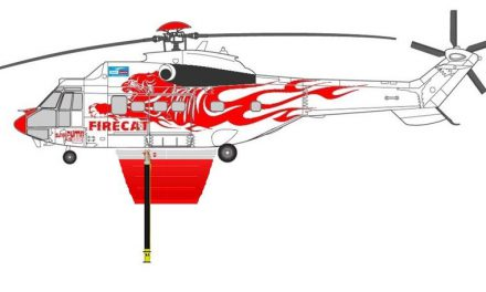 Heli Austria Selects Helitak Firefighting Tank for Super Puma Firecat