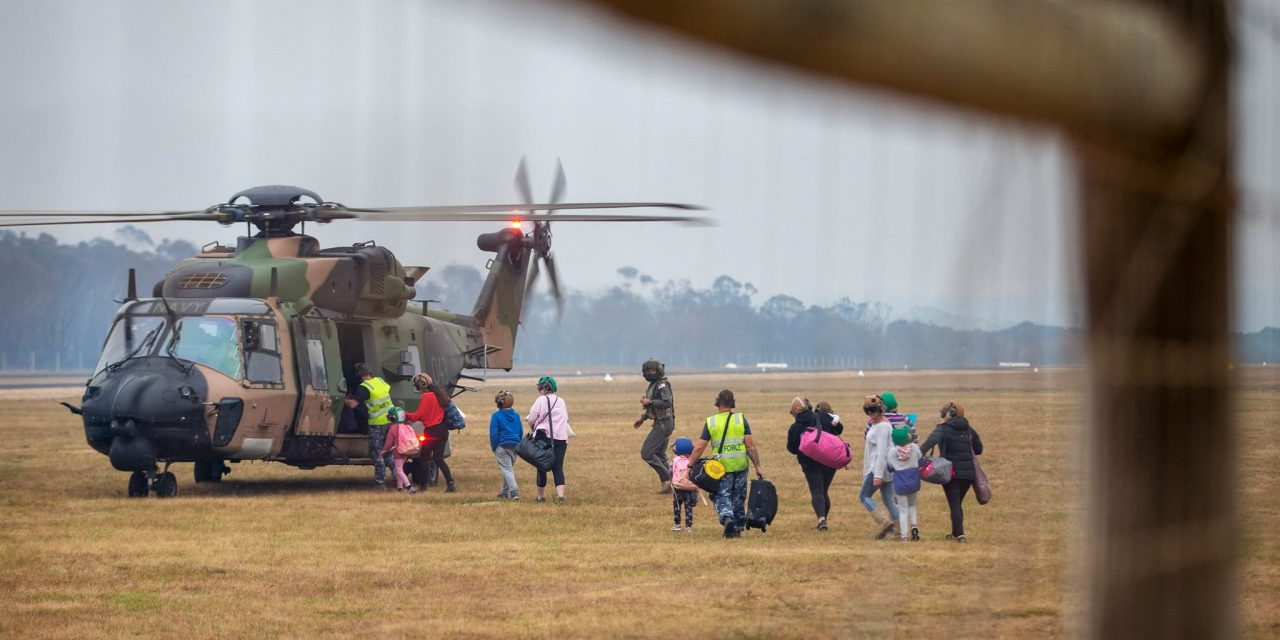 Australian Defense Forces Assist in Unprecedented Bushfire Assistance Missions