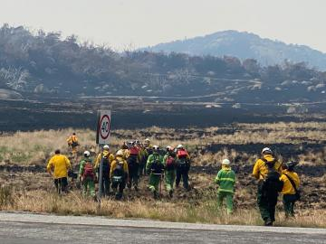 Partnership Efforts to Address Australia Wildfires
