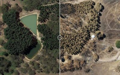 3-D Aerial Maps Help Australian Fire Ground Recovery
