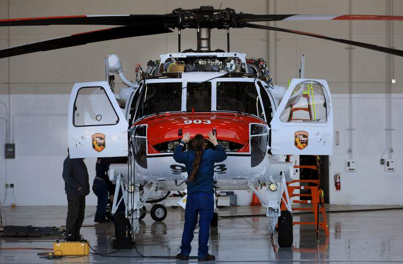'It Will Change How We Operate': Cal Fire Buys First Helicopters That Can Fight Fires at Night