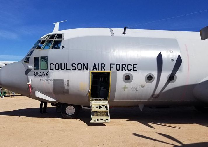 Coulson Prepares Two Additional C-130s for Aerial Firefighting