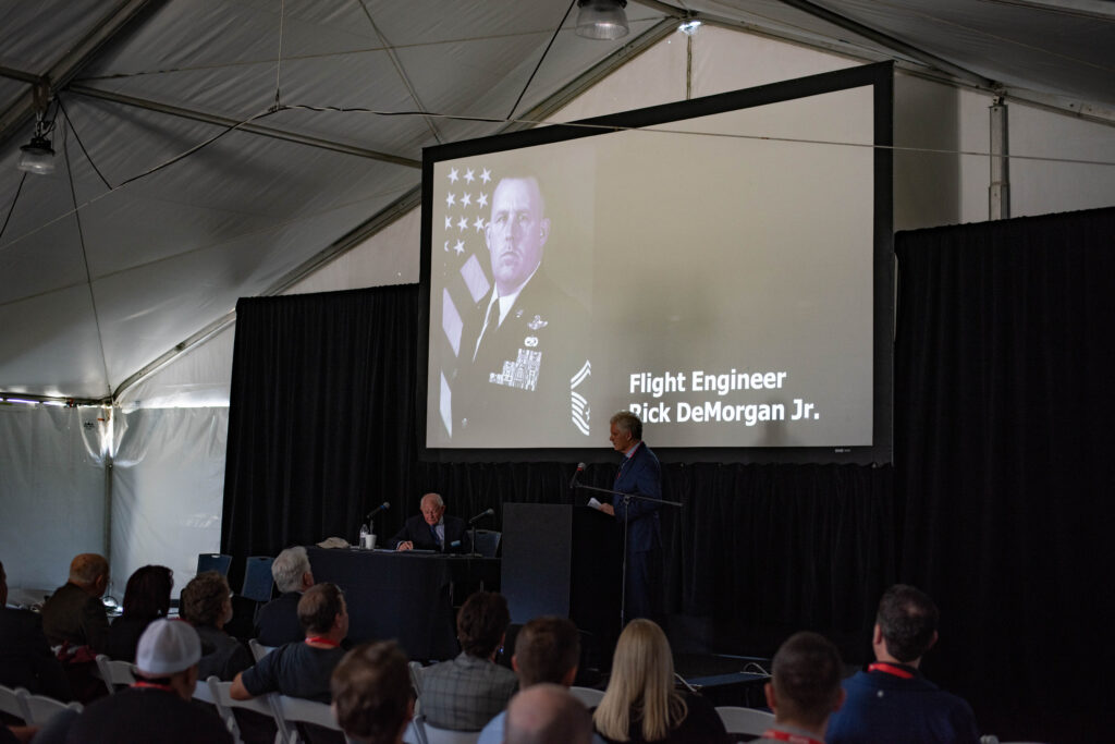 Coulson Aviation CEO Wayne Coulson delivers a moving tribute to the three aviators lost in the Tanker 134 crash in Australia in January 2020.