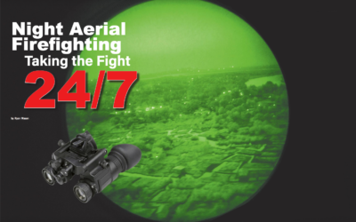Night Aerial Firefighting – Taking the Fight 24/7