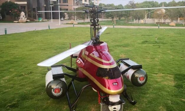 Chinese Company Designs Firebombing Drone