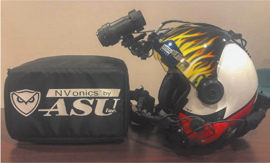 ASU White Phosphor NVG's are the choice for CoFire Aviation. Image by CoFire Aviation.