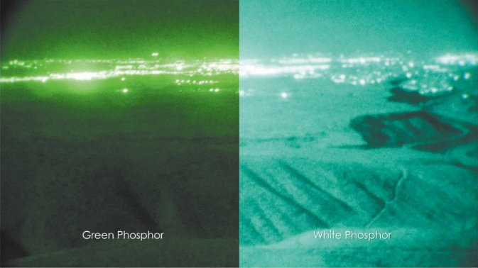 White Phosphor NVG units are fast becoming the standard for night aerial firefighting missions thanks to their new technology offering much more clarity for aviators. ASU image.