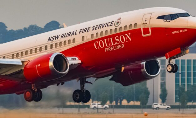 Coulson's Australian 737 Fireliner Was Set to be Named 'Archie' After Royals First Born