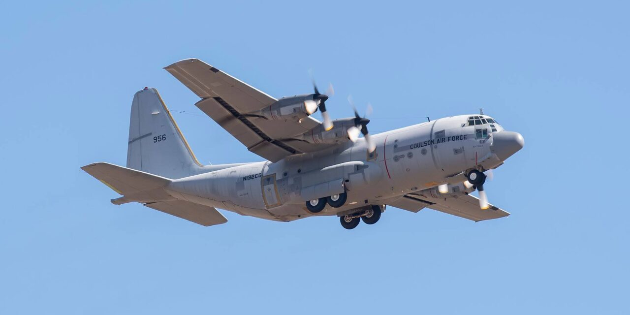 Coulson's Second C-130 Leaves Arizona for Florida