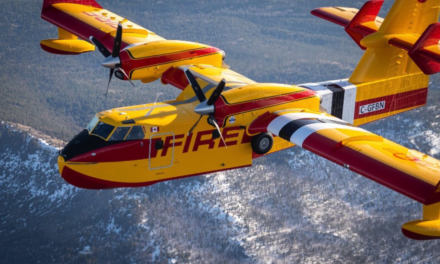 """Longview Delivers First Production Viking CL-415EAF """"Enhanced Aerial Firefighter"""" to Launch Customer Bridger Aerospace Group"""
