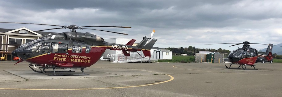 Contra Costa County Fire District Gets Second Helicopter