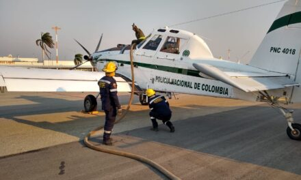 Police Use AT-802s to Fight Wildfires in Columbia