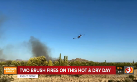 Lost Dutchman Fire Consumes 260 Acres, Forces Evacuations in Apache Junction