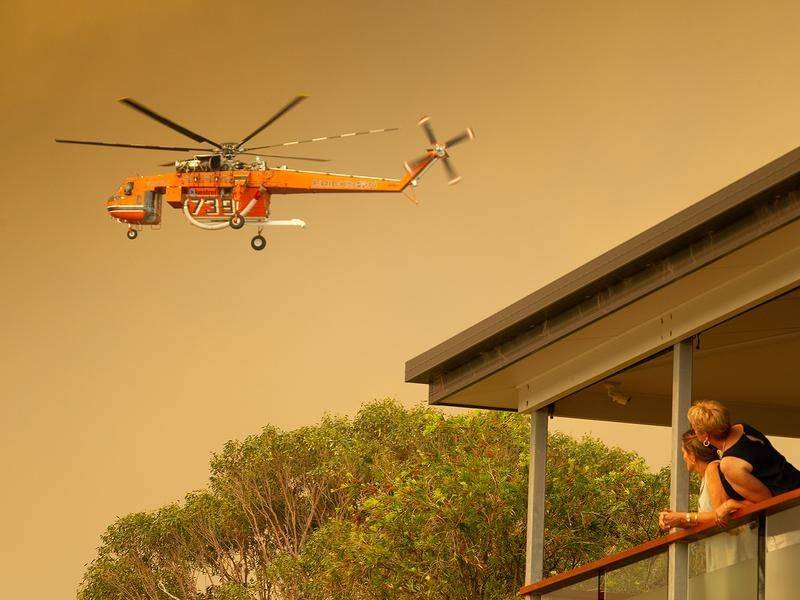 Increased Aerial Support for Next Bushfire Season
