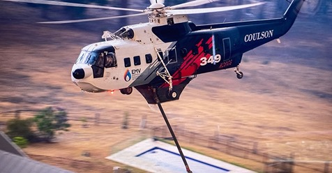 Coulson Aviation Awarded First Aerial Firefighting Contract in Asia