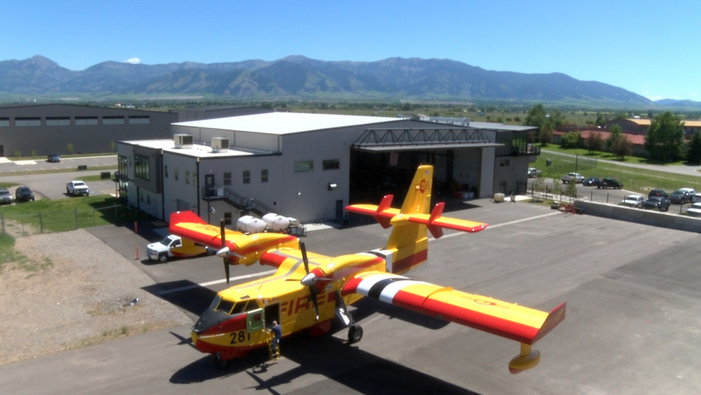 First of its kind: new firefighting aircraft in Montana