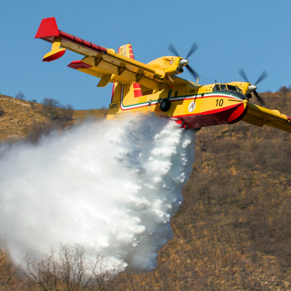 Babcock Italy are first in the world to install ADS-B Out technology on Canadair