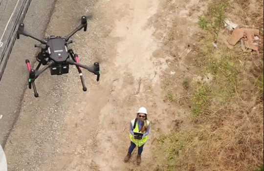 SCE Using Drones as Part of Wildfire Prevention Measures